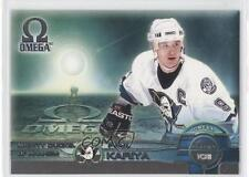 1998 Pacific Omega Planet Ice #28 Paul Kariya Anaheim Ducks (Mighty of Anaheim)