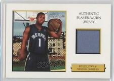 2006-07 Topps Turkey Red Relics White #TRR-KL Kyle Lowry Memphis Grizzlies Card
