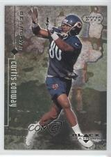 1998 Upper Deck Black Diamond Rookies #18 Curtis Conway Chicago Bears Card
