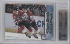 1997-98 Pacific Omega 250 Mark Messier Wayne Gretzky BGS 9 New York Rangers Card