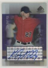 2004 SP Prospects Autographed Draft Picks Tier 3 #KK Koley Kolberg Auto Card