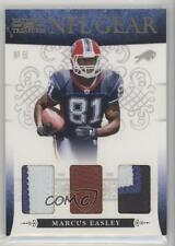 2010 Playoff National Treasures NFL Gear Trios Prime #29 Marcus Easley Card