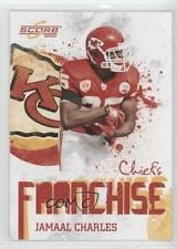 2010 Score Franchise Glossy #18 Jamaal Charles Kansas City Chiefs Football Card
