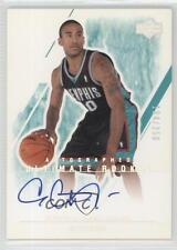 2003-04 Upper Deck Ultimate Collection #135 Dahntay Jones Memphis Grizzlies Auto