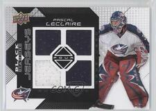 2008-09 Upper Deck Black Diamond Quad Jerseys BDJ-PL Pascal Leclaire Hockey Card