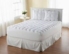Pillow Top Mattress Topper Bed Loft Bedding Cover Comforter Pad King Queen Twin