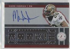 2011 Panini Totally Certified Red #225 Mark Ingram New Orleans Saints RC Card