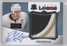 2012-13 Upper Deck The Cup Limited Logos Autographs LL-RG Ryan Getzlaf Auto Card