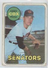 1969 Topps #383 Casey Cox Washington Senators Baseball Card