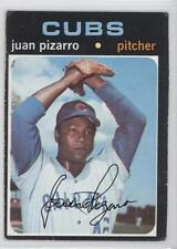 1971 Topps #647 Juan Pizarro Chicago Cubs Baseball Card