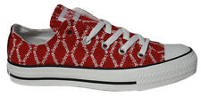 Converse Chuck Taylor All Star Red Edition Lo Top Unisex Trainers 102089F D98