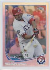 2013 Topps Chrome Refractor #193 Nelson Cruz Texas Rangers Baseball Card