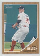 2011 Topps Heritage Minor League Edition #175 Jimmy Nelson Rookie Baseball Card