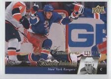 2010 Upper Deck UD Exclusives #71 Brandon Dubinsky New York Rangers Hockey Card