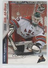2005-06 Choice AHL All-Stars 08 Wade Flaherty Manitoba Moose (AHL) All-Star Team