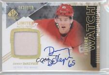 2013 SP Authentic Future Watch Limited Autograph Patch #307 Danny DeKeyser Auto