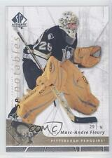 2006-07 SP Authentic #129 Marc-Andre Fleury Pittsburgh Penguins Hockey Card