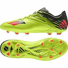 adidas Mens Gents Messi 15.1 Firm Ground Football Boots Sneakers Studs