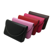 Top  New Pocket PU Leather Business ID Credit Card Holder Case Wallet