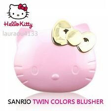 NEW HELLO KITTY TWIN COLOR BLUSH MAKE-UP SANRIO LIMITED