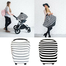 Multi-Use Newborn Infant Baby Car Seat 4 in 1 Stretchy Canopy Nursing Cart Cover