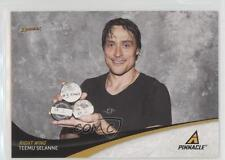 2011-12 Pinnacle 108 Teemu Selanne Anaheim Ducks (Mighty of Anaheim) Hockey Card