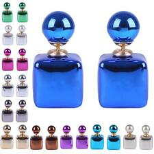 Charm Jewelry Colors 1 Pair Square Women Colorful Candy Earrings Statement Stud