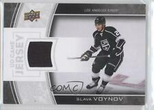 2013 Upper Deck Series Two UD Game Jersey #GJ-SV Slava Voynov Los Angeles Kings