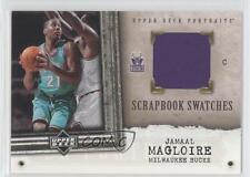 2005-06 Upper Deck Portraits Scrapbook Swatches #SS-JM Jamaal Magloire Card