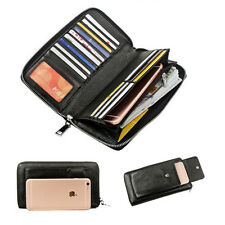 3 Colors Soft Genuine Leather wallet Card Holders Purse Lady pouch Handbag