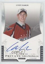 2011 Panini Rookie Anthology Private Signings #R-CE Cody Eakin Auto Hockey Card