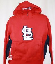NEW Youth MAJESTIC St Louis CARDINALS STL Pullover Baseball Hoodie Sweatshirt