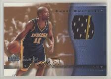 2003-04 Upper Deck Sweet Shot Swatches #JT-SS Jamaal Tinsley Indiana Pacers Card