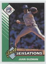 1993 Starting Lineup Cards 503081 Young Sensations Juan Guzman Toronto Blue Jays