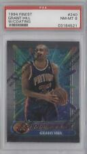 1994 Topps Finest 240 Grant Hill PSA 8 Detroit Pistons RC Rookie Basketball Card