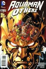 Aquaman and the Others #8 in Near Mint + condition. FREE bag/board