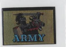 1960 Topps Metallic Stickers #NoN Army Black Knights Football Card