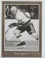 2006 Upper Deck Bee Hive 5x7 Black & White Variation #182 Mike Bossy Hockey Card