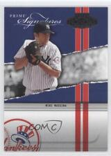 2004 Playoff Honors Prime Signatures #PS-16 Mike Mussina New York Yankees Card