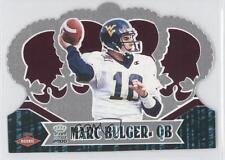 2000 Pacific Crown Royale Retail 111 Marc Bulger West Virginia Mountaineers Card