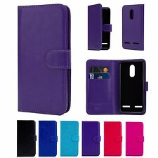 32nd Book Wallet PU Leather Case Cover for Lenovo K6 + Screen Protector & Stylus