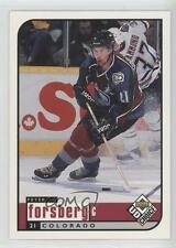 1998-99 Upper Deck UD Choice #56 Peter Forsberg Colorado Avalanche Hockey Card