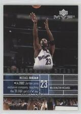 2002 Upper Deck MVP Basketball Diary #B1 Michael Jordan Washington Wizards Card