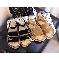 Women Open Toe Platform High Heel Gladiator Peep Toe Sandals Boots Flats Shoes