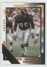 1992 Wild Card 10 Stripe #145 Richard Dent Chicago Bears Football