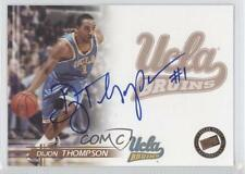2005-06 Press Pass Autographs Bronze #DITH Dijon Thompson UCLA Bruins Auto Card