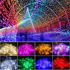 10M/20M 100/200 LED Fairy String Lights Garden Party Decors 2016 Christmas Tree