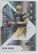 2008 Leaf Certified Materials Potential Mirror #CP-13 Brian Brohm Football Card