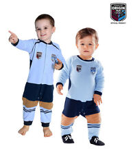 NSW Blues Infant Footysuit Sizes 000 - 1