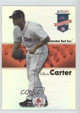 2008 TRISTAR PROjections Reflectives #385 Chris Carter Boston Red Sox Pawtucket